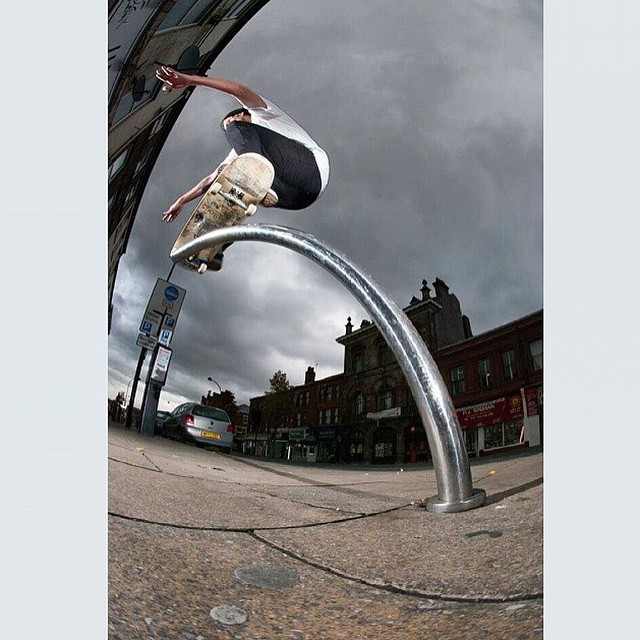 10593301 599954130136456 2114082238 n - Check out this nosegrind pole jam by @tristanlevi at shralpin.com : @gregers1986...