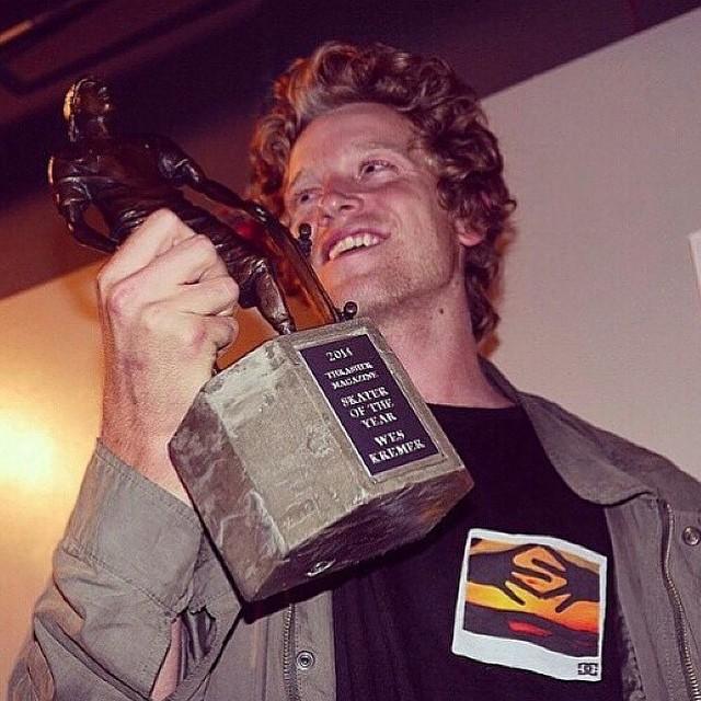 10838390 1504722333123151 1639135331 n - Congrats #WesKremer on #thrasher's #SOTY!!!  #Shralpin #SkateEveryDamnDay...