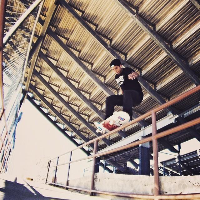 10844135 1510657995862267 1612028743 n - Front nose grind by @markoosantos  #Shralpin #SkateEveryDamnDay...
