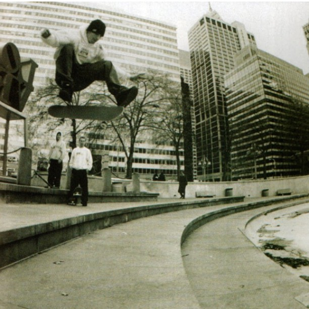 10882005 593883827421213 772704956 n - #TBT to a missed skateboarding gem, #LOVEpark with a stylish kickflip from @kerr...