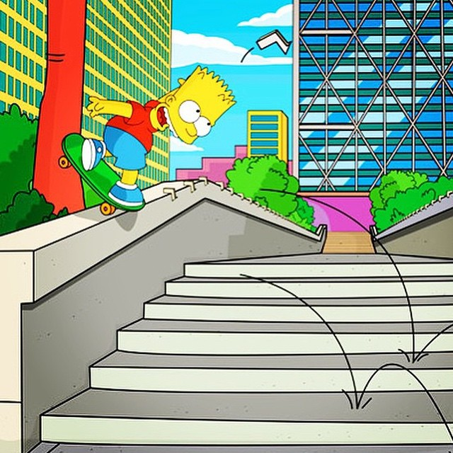 10899269 506250189512776 233241900 n - Hubba hideout backside noseblunt by the one and only El Barto : @pete_bauer  #Sk...