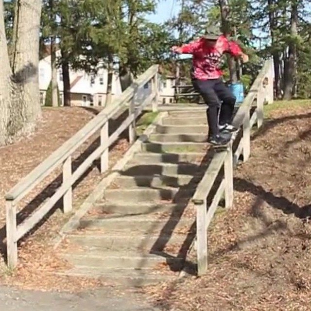 10946592 549614785141701 1707810171 n - Wooden rails are no joke, yet @tnelzzdawg is up for the challenge. : @mattlikest...