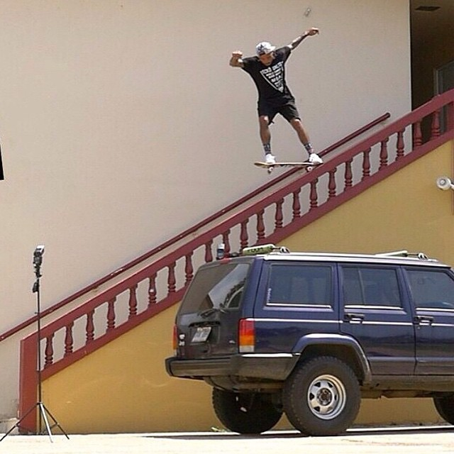 11015674 791509117605013 1942301135 n - This rail is a beast, yet @mannyslaysall throws down a 5-0 with ease.  #Shralpin...
