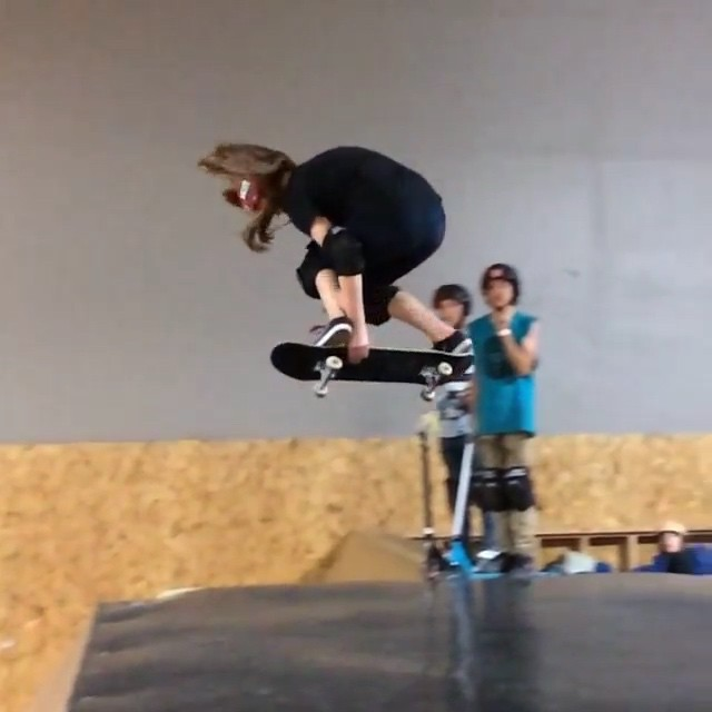 11024179 1396728117312604 765682096 n - Watch progression at its finest as @meglemon14 throws down a backside 360 on the...