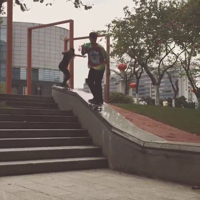 11116607 1077343412279715 2078508812 n - #SkateboardIsFun with @luanomatriz and @leticiabufoni : @thyagoribeirotr  #Brazi...