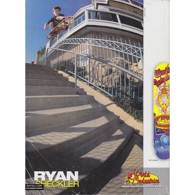 11230356 414788375358004 1956937949 n - #TBT to when @shecks was just a grom with @worldindustries and still made covers...