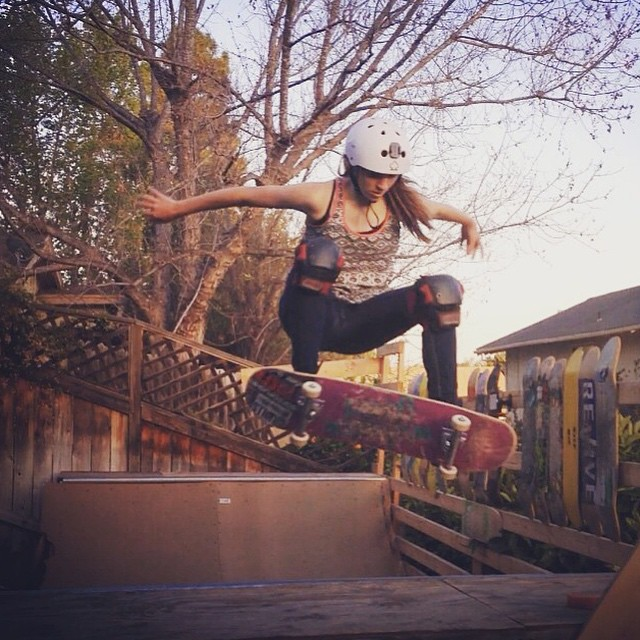 11250089 707552156058028 394796777 n - This weeks #WCW is @haleyisaak with a clean frontside ollie : @connor9911...