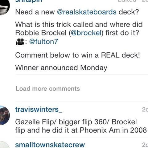 11355232 1028753053911195 1894723824 n - Congrats @traviswinters_ you just won a deck from @realskateboards ...