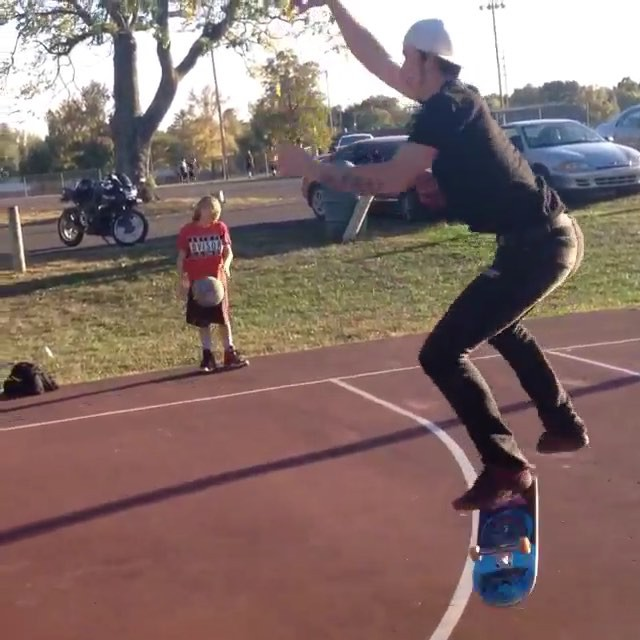 11372358 947260611976892 652898148 n - Check out @skatemaune 3 point shots. He's on point just like those kickflips....