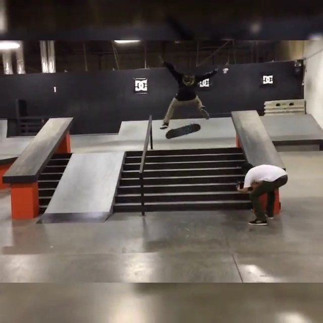 11375355 866945773390082 1057885832 n - 5 trick fix recap at @dcshoes with @blackasswoogie throwing down some hammers. W...