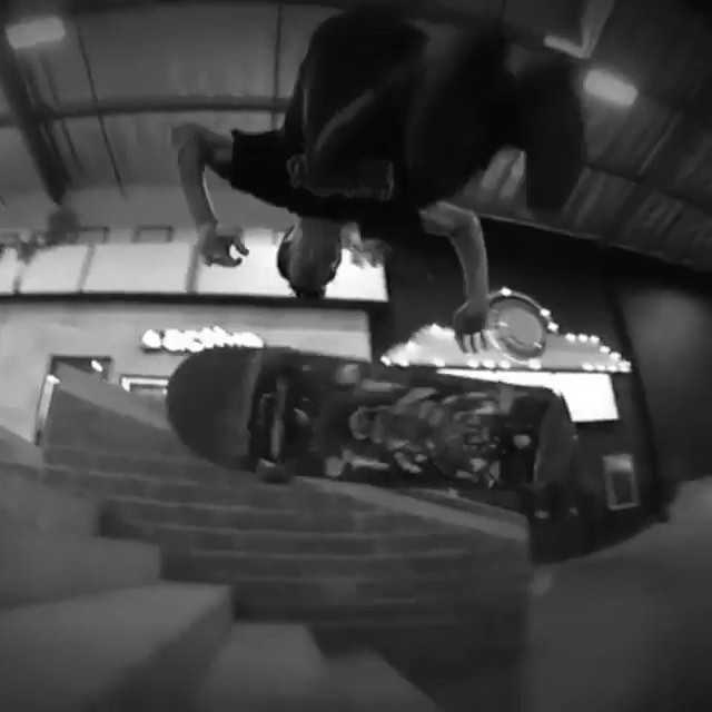 "1172525 563194663849661 2139682360 n - This is getting nuts!  ""The Handstand flip down the 5 stairs, was one of the sca..."