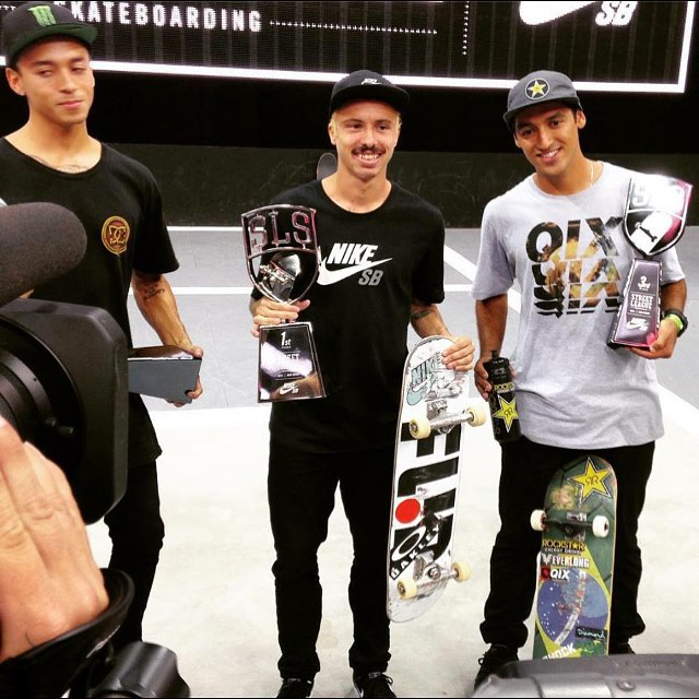 11881650 1456196214688665 337396676 n - Congrats @luanomatriz on another @streetleage win. Second was @nyjah and third w...