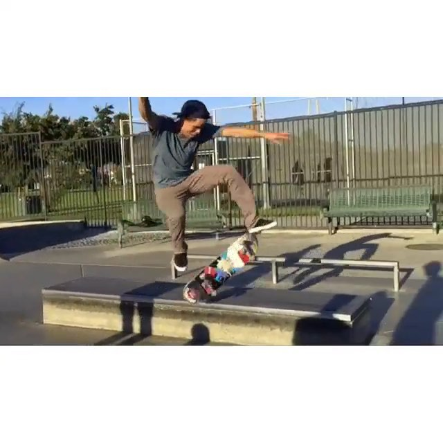 11930777 1642559689294520 111095439 n - Having some fun on the Cerritos skatepark ledge with @zachdoelling and @philceja...