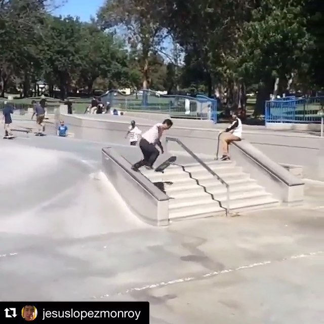 11934700 525947774250404 1564106717 n - Damn @jesuslopezmonroy is getting down | Repost from @dharmawheelco who are havi...