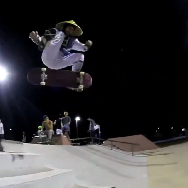12107631 1035927346451723 583404175 n - #TBT to the @majercrew Halloween fun in 2014 with this frontsideflip lateflip by...