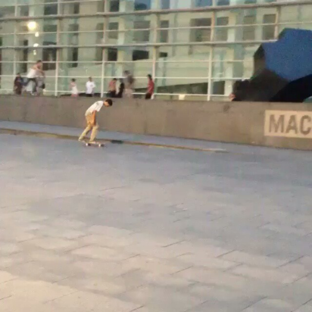 12277442 422841414579321 2144394313 n - Trying to Sw Bs flip the big MACBA gap straight to the trash @anthonymarocco...