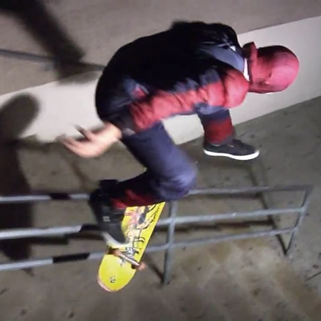12599051 903595079756277 17845623 n - Peep out the new  from @luismoravids featuring skating with  Spider Man A.K.A @h...