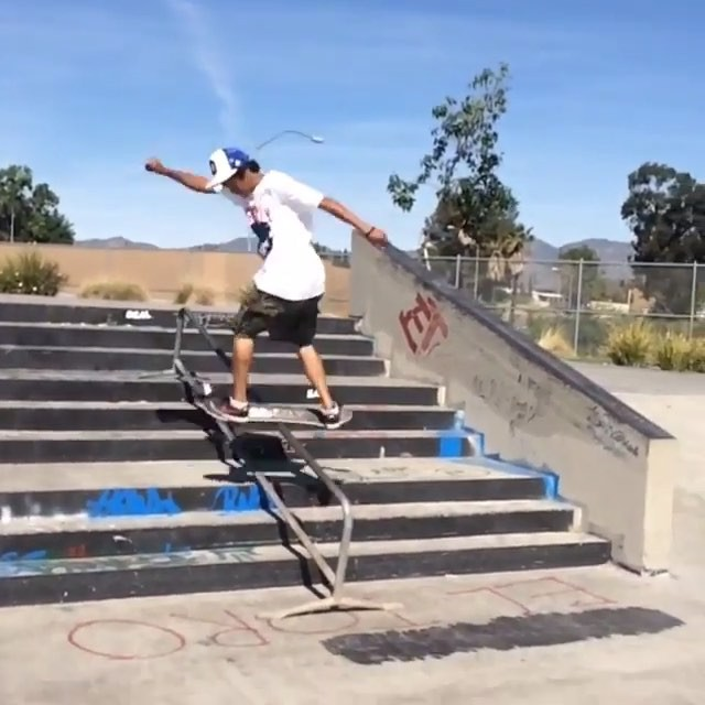 12717069 581853465296845 533450022 n - Always getting innovative with the gap to rail, but down the triple set this tim...