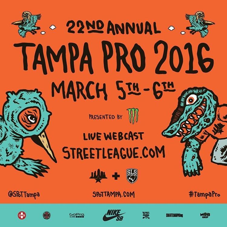 12748168 534335920079143 687979899 n - Whose watching the 22nd annual #spottampa pro today?...