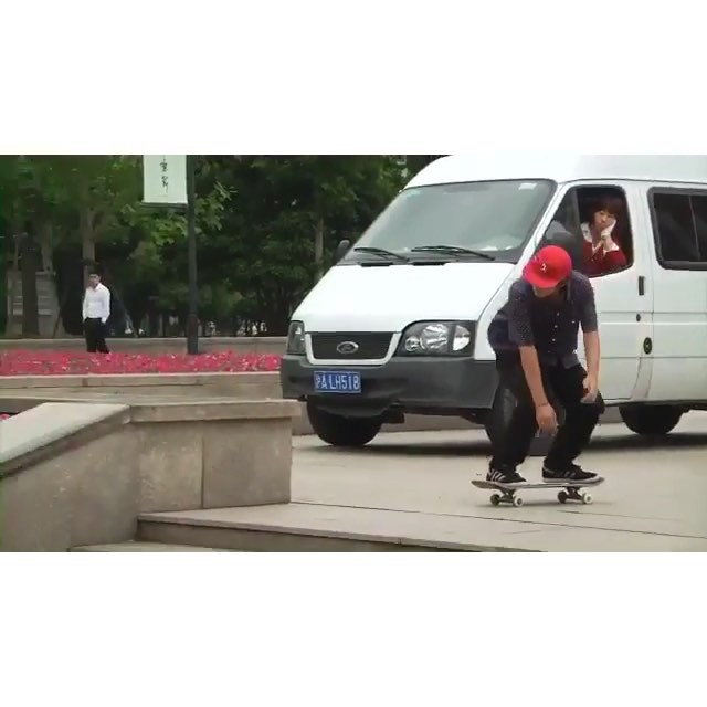 12751149 197913667233778 1532747025 n - Going the distance in this bs tailslide with @trentmcclung : @alan_hannon...