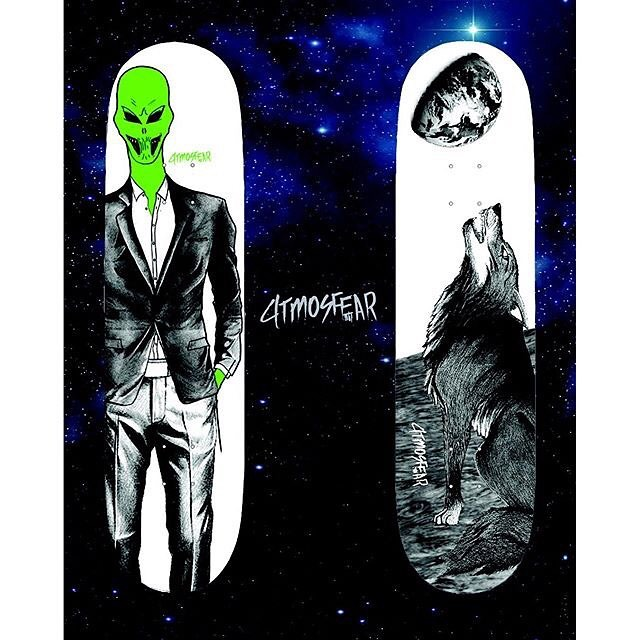 12751231 1691808554392490 1127062982 n - Check out @atmosfearskateboards for rad stickers and boards at ...