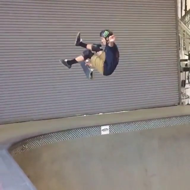 13092364 977543795678288 1711887592 n - @treywood is one cool cat! Kickflip stalefish around the bend, a little layback ...