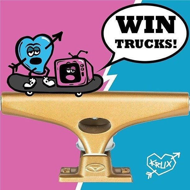 13108570 221987274845728 426804674 n - Win @KruxTrucks this weekend......