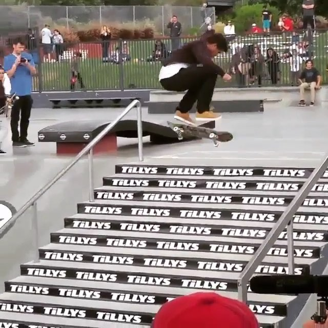13150910 1016526775108976 1046654325 n - Name this trick for lil good guy on the stairs at the @shecklerfoundation #skate...