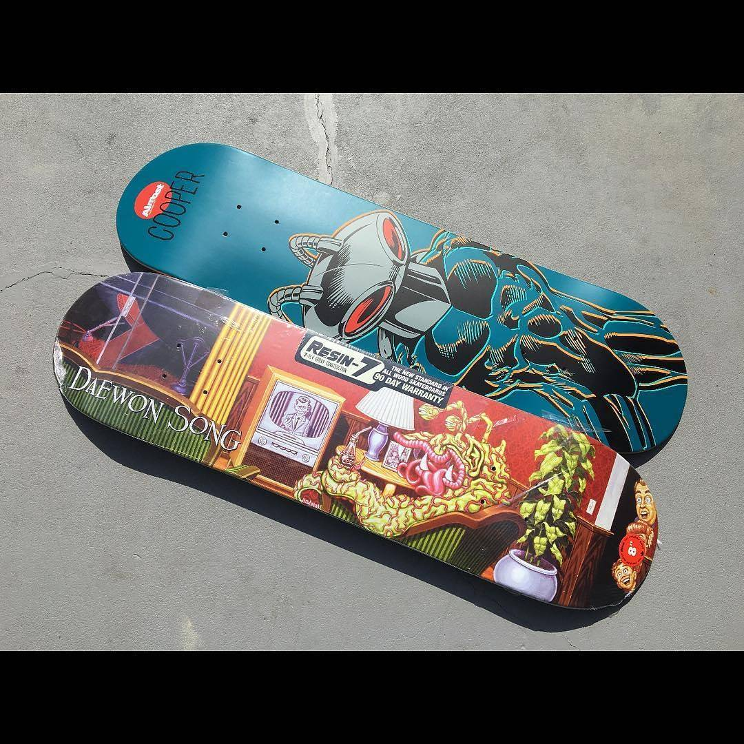 13385770 825693070896887 1872761862 n - Contest via @skatelifesupply to win 2 @almostskateboards by @daewon1song and @co...