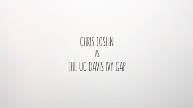 13402455 983722258401276 1421100728 n - #StopMotion of @ChrisJoslin_ vs The UC Davis Ivy Gap. Made by @jackhydeanimation...
