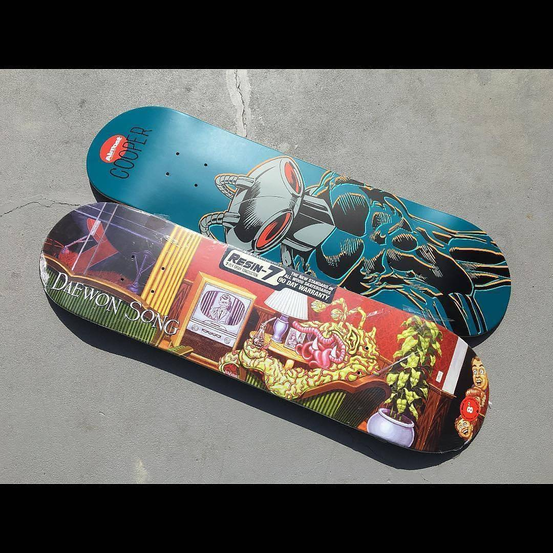 13437316 1061314903982916 191625702 n - Contest via @skatelifesupply to win 2 @almostskateboards by @daewon1song and @co...