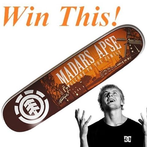 13712518 178288615922388 942678822 n - Congrats @syrupmunir  you just won a new deck from @elementbrand courtesy of @ma...