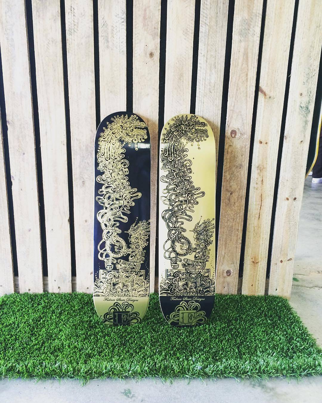 13732256 1238852149482975 1529866885 n - Check out the sweet graphics on @fadnerskatedesigns decks at fadnerskatedesigns....