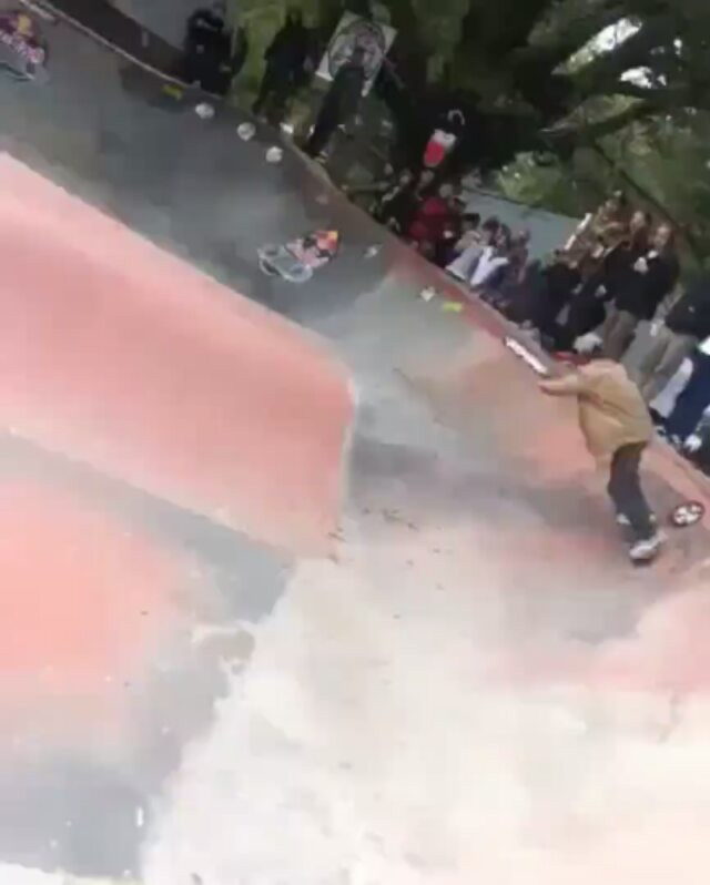 14026625 276268439422296 763800028 n - WTF @alexsorgente is gnarly! He kept ripping after this slam @hallofmeat  Repost...