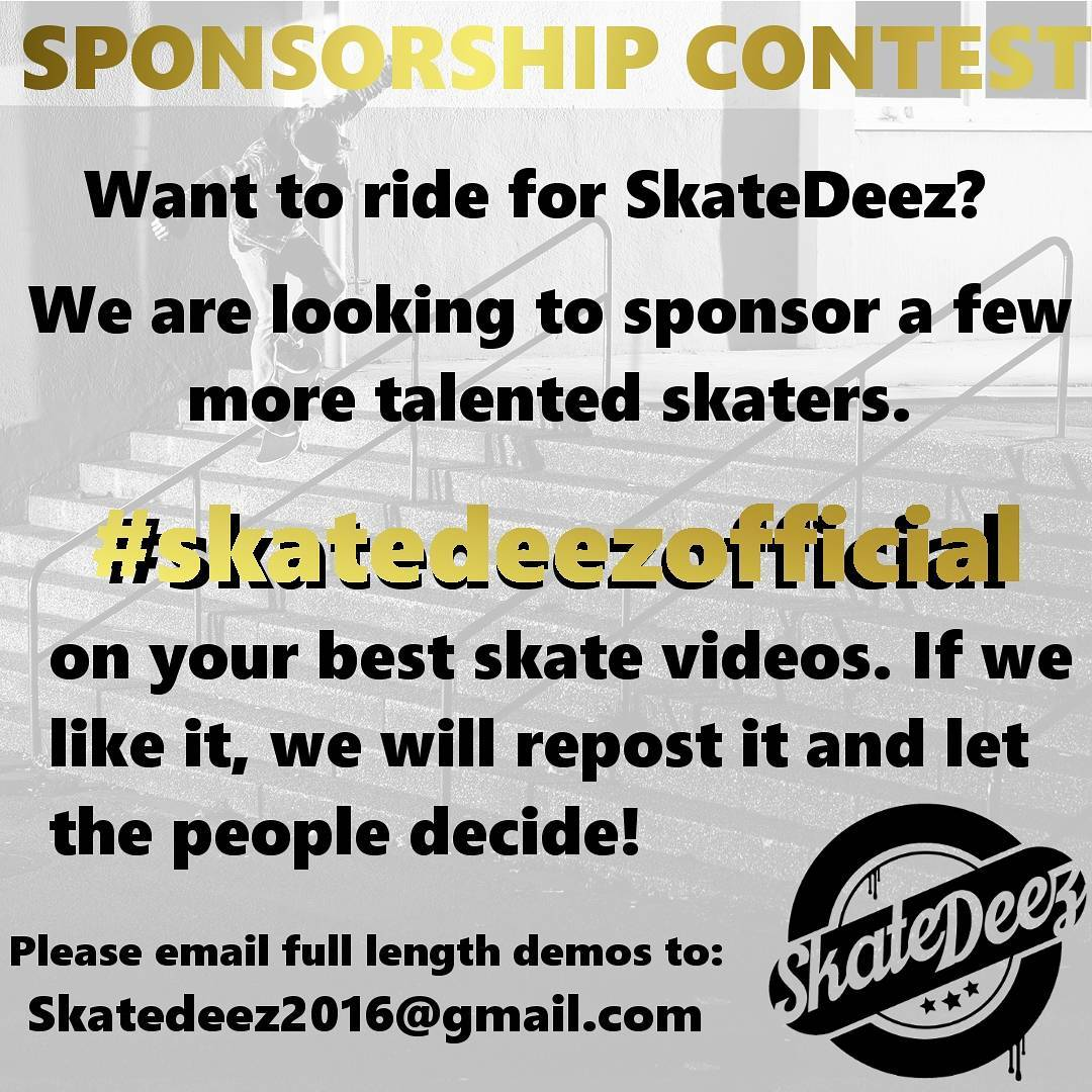 14099465 1634485180198098 1172316717 n - Need a board sponsor? @skatedeezofficial is looking for riders just submit your ...