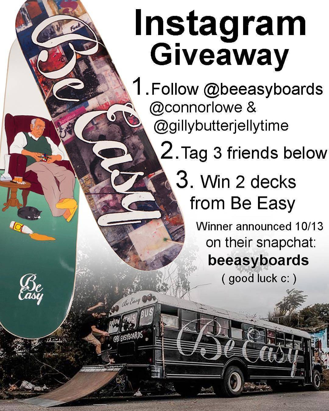 14583284 1201171576617165 5341607674498777088 n - Giveaway from @beeasyboards of two new decks!  To enter follow @beeasyboards, @c...