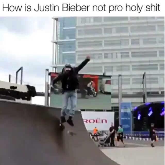 14727673 203538550075669 676993464117755904 n - Careful Justin Beiber you got a show to put on  via @whyidontskateboard...