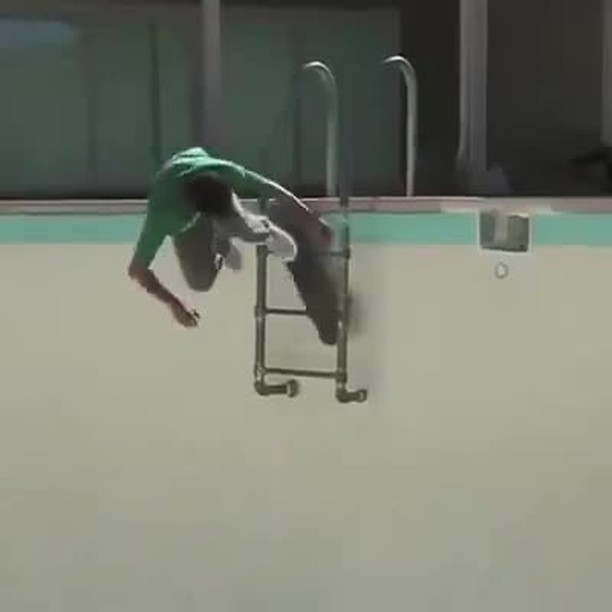 15338322 237884086648527 4599367184639066112 n - Pool skating taken to the next level with @animal_savage...
