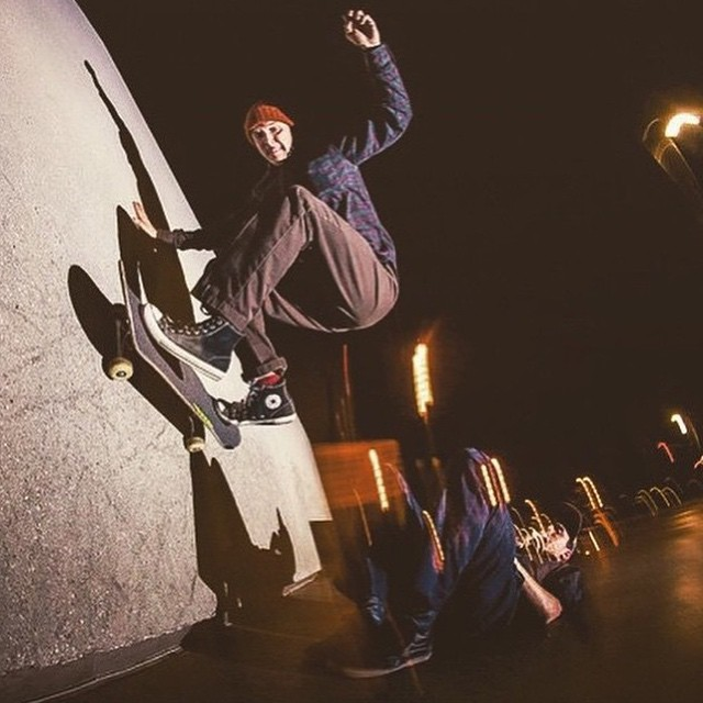 924661 869189003145008 1801565445 n - Check out the frontside wallride @virginiaben does over his buddy @seangrohs : @...
