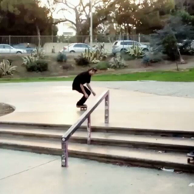 928145 1696042580608310 1455785070 n - @_carlosvega throws down a nollie tre fs feeble...