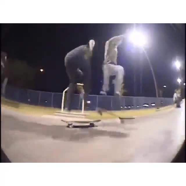 14561855 197537667317537 764505986869231616 n - Tre flip fun with Josh Hawkins and John Motta...