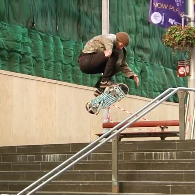 15877393 1335989539806230 1285010895923052544 n - Unused @zoolz angle @daneburman's hardflip at martin place from @zeroskateboards...