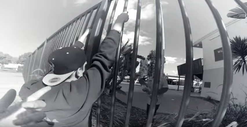 JOHN BRADFORD AND RENE SERRANO KILL THE PARKS !!! - A DAY WITH NKA -
