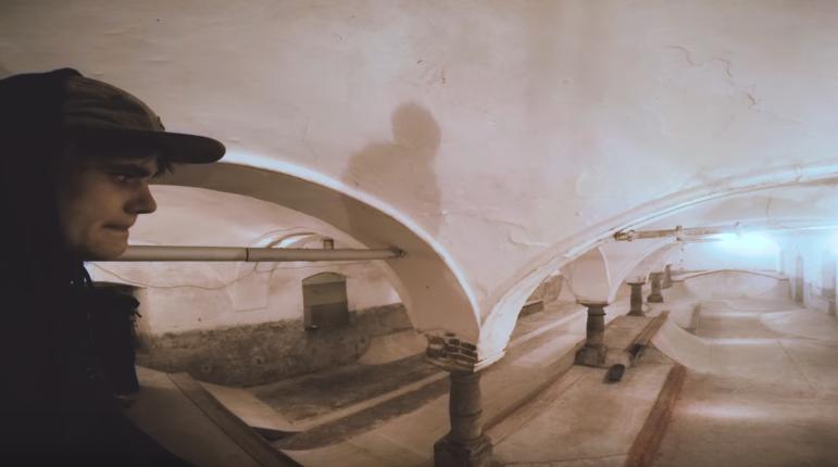 David Bachl Skates the Gothic Basement