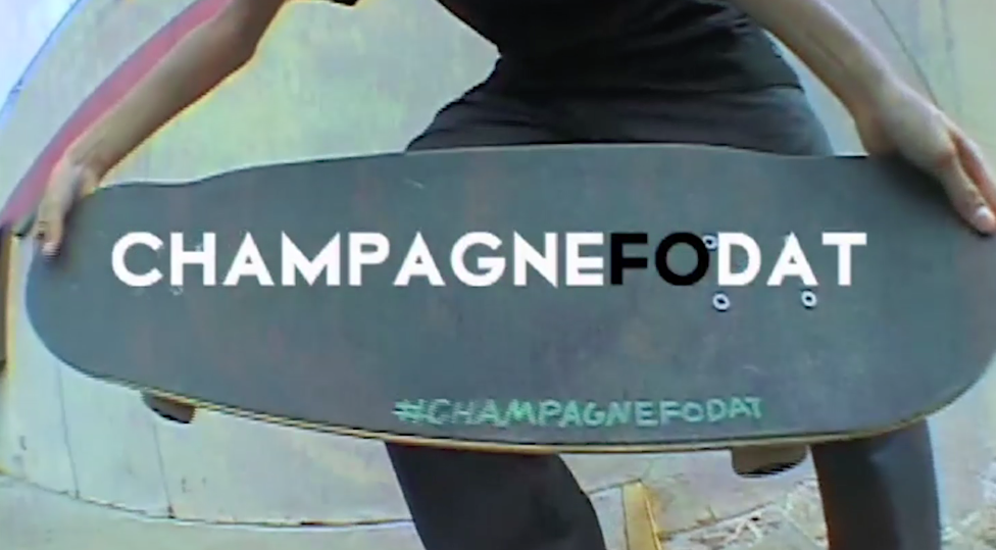 ChampagneFoDat, Ave A New Skateshop Video