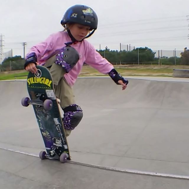 16465317 1218601378254492 8236844347048329216 n - @brielsk8grl is progressing extremely fast for a 5 year old...