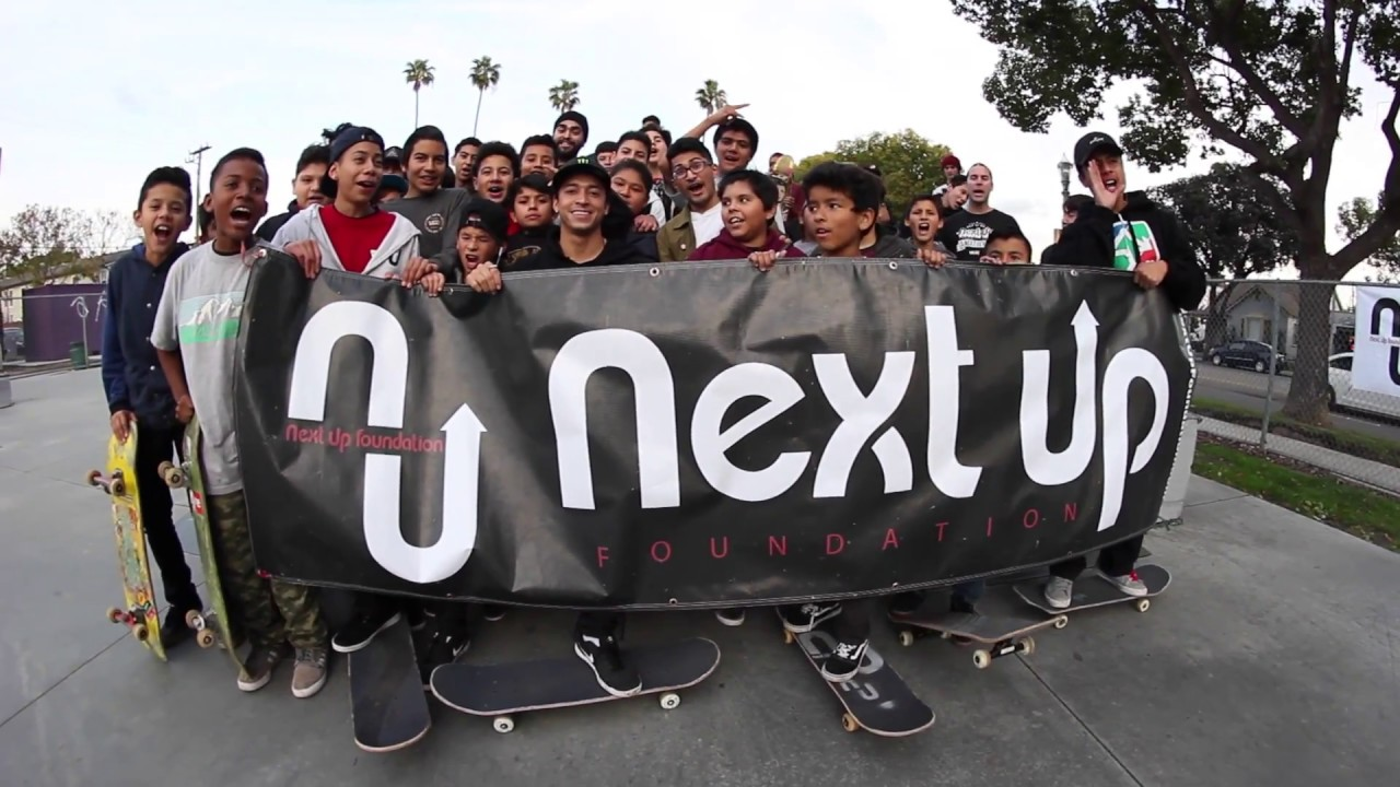 Next Up Foundation Pro Guest Nyjah Huston