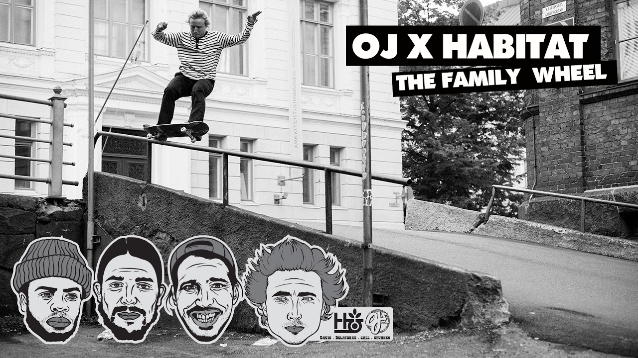 The OJ x Habitat Family Project: Marius, Fred, Al and Dela