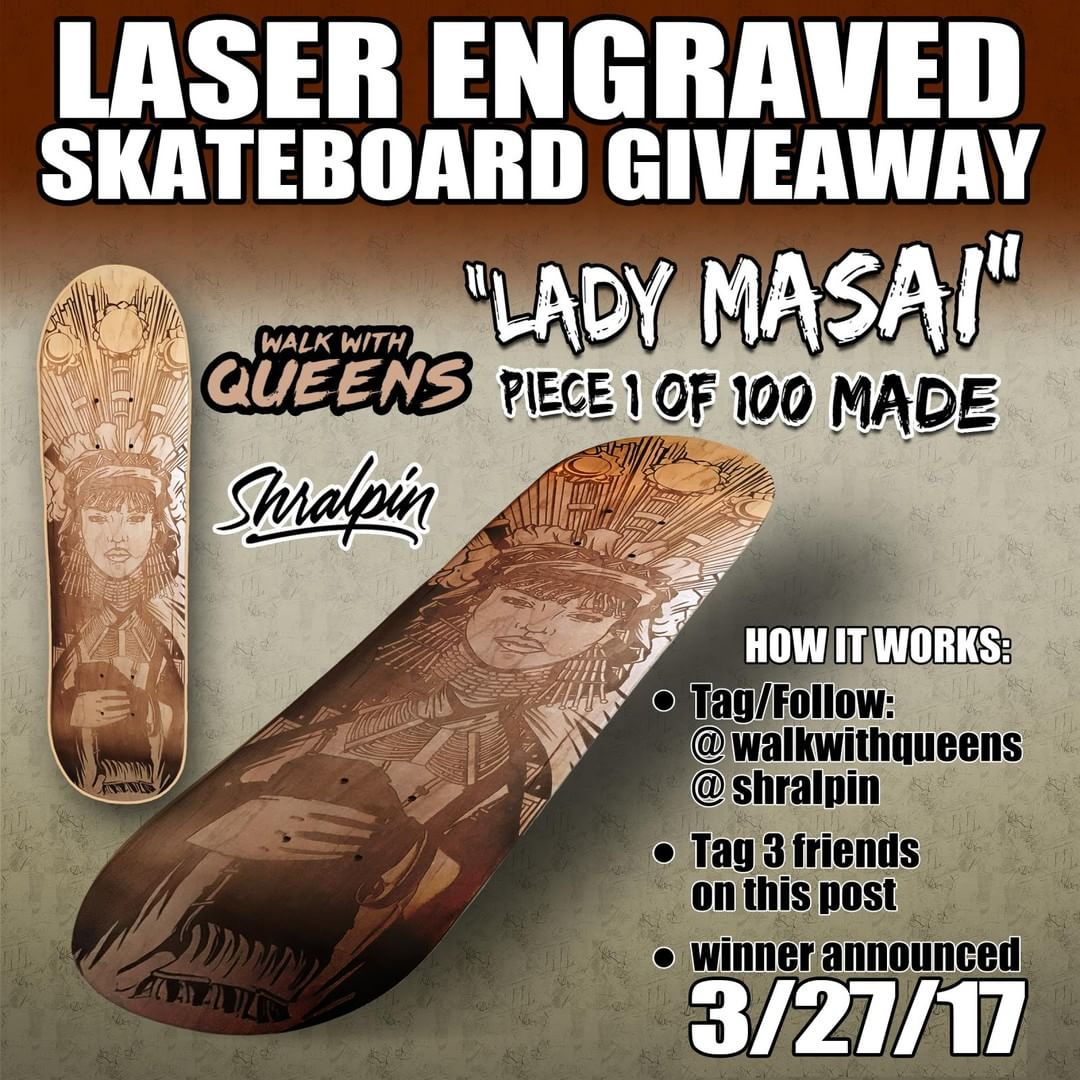 17438637 1830251177000835 7809687249343217664 n - Win a new deck   Follow @walkwithqueens & @shralpin  Tag 3 friends in the commen...