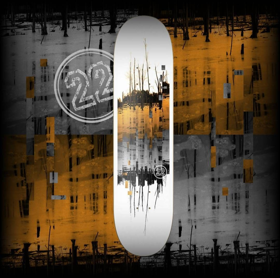 17438780 1230558433727133 4026251597678903296 n - Win a new deck  from the homies at @22BoardCo  Follow @22boardco & @shralpin  Ta...